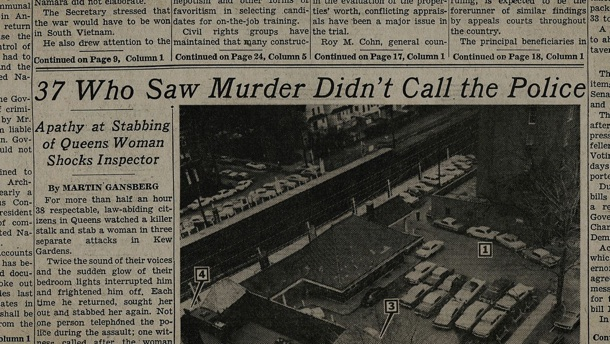 37 Who Saw Murder Didn't Call The Police